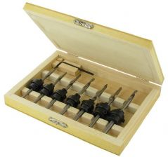 SILVERLINE 273222  Drill And Countersink Set (7Pc)